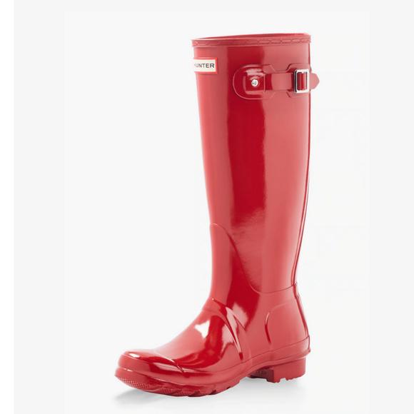 Hunter Shoes - Hunter Women's Original Adjustable Gloss Rain Boot